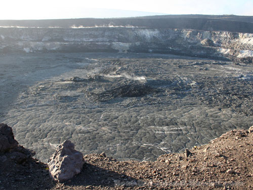 Hawaii Volcanoes National Park Crater