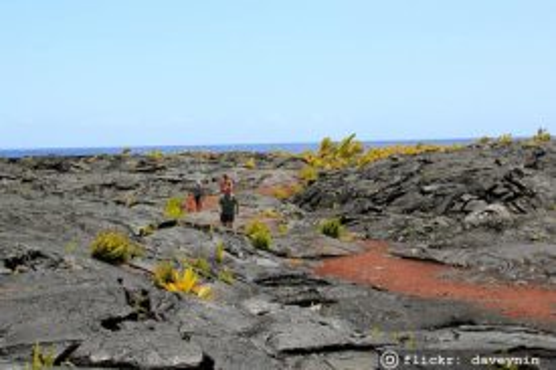 Kalapana Big Island Lava Viewing