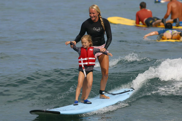 Big Island Surf Lesson