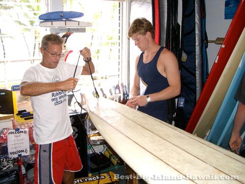 Big Island Hawaii - Surfing
