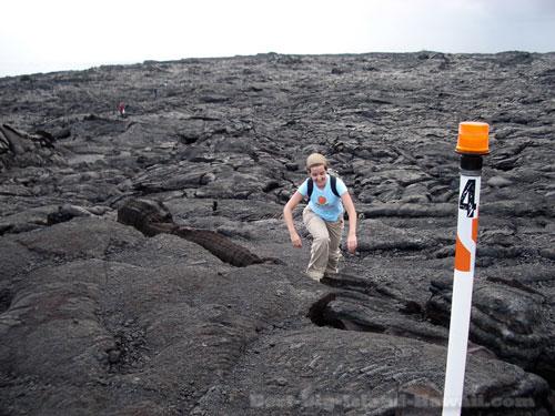 Lava Flow Hawaii Hike