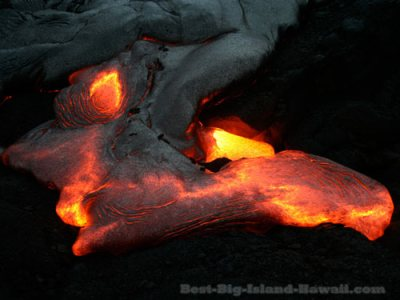 Lava Flow Hawaii Big Island