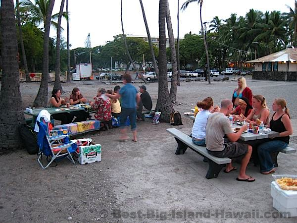 Kahaluu Beach Park Big Island Hawaii
