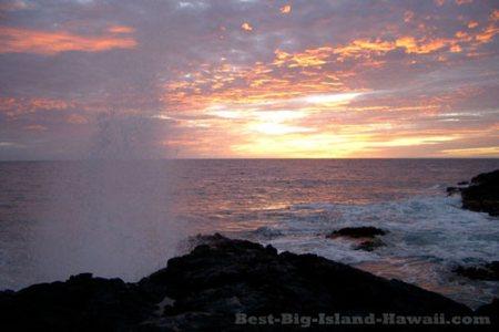 Hawaii Sunset Kona Big Island