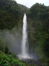 Hawaii Waterfalls Big Island Akaka Falls