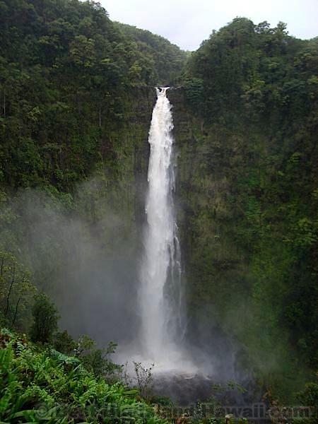 Hawaii Waterfalls Big Island Akaka Falls