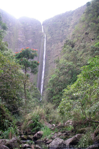Hawaii Waterfalls Big Island Waipio Valley