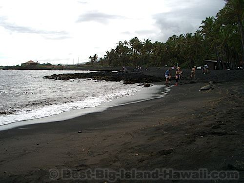 Best Big Island Beaches - Black Sand Beach