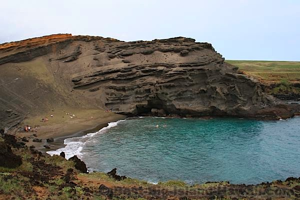 Best Big Island Beaches - Green Sand Beach