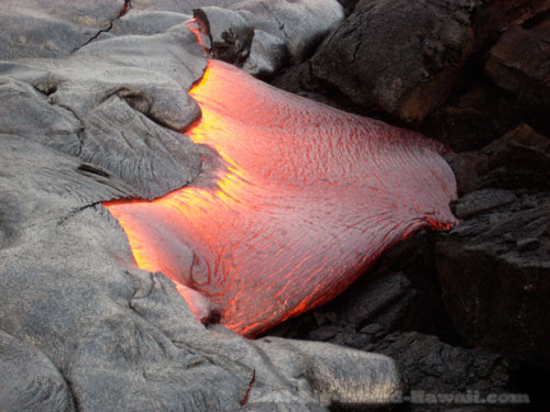 Lava Flow Hawaii Volcanoes