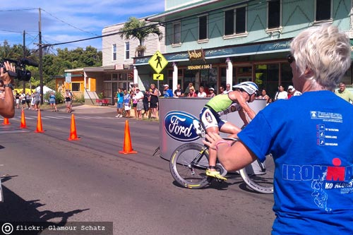 Ironman Kona Bike Turnaround Hawi