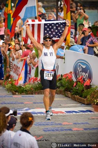 Ironman Kona Start Finish