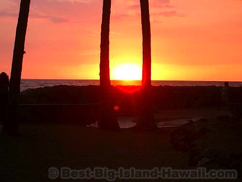 Best Big Island Beaches - Kahaluu Beach Park
