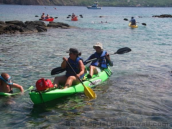Hawaii Kayak Big Island