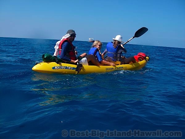 Big Island Activities Kayaking