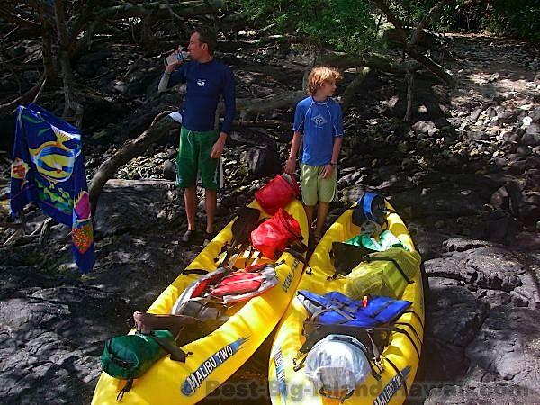 Hawaii Kayak Big Island