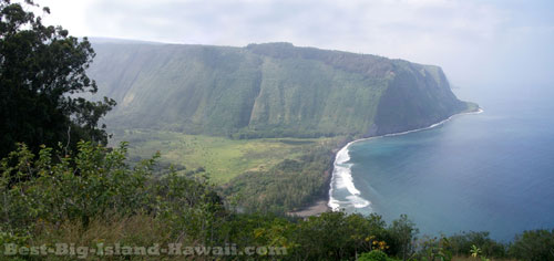 Waipio Valley Hawaii Panorama